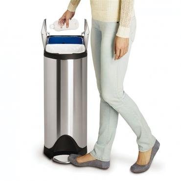 Simple Human 40 litre Butterfly Recycler Bin