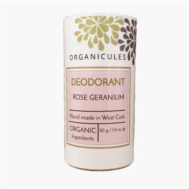 Organicules Deodorant - Geranium