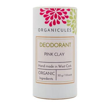 Organicules Deodorant - Pink Clay