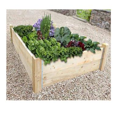Deluxe Raised Bed 6ft x 3ft (Irish Made)