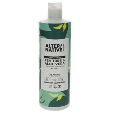 ALTER/NATIVE Tea Tree & Aloe Vera Shampoo 400ML