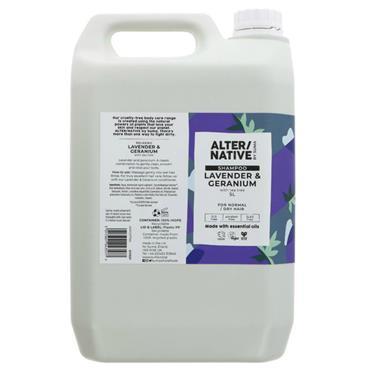 Suma Lavender & Geranium Shampoo 5L