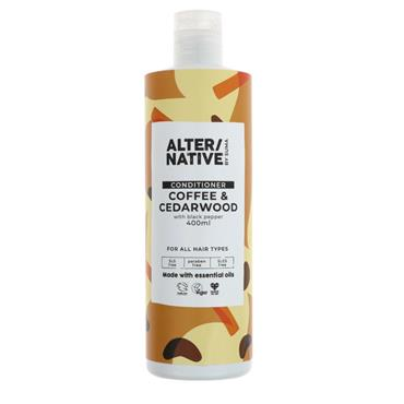 ALTER/NATIVE Coffee & Cedarwood Conditioner 400ML