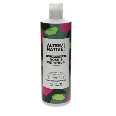 ALTERNATIVE Rose & Geranium Conditioner 400ML