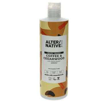 ALTER/NATIVE Coffee & Cedarwood Body Wash 400ML