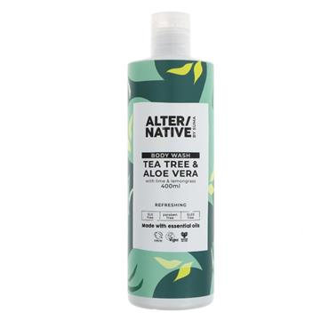 Alter/native Tea Tree & Aloe Vera Body Wash 400ML