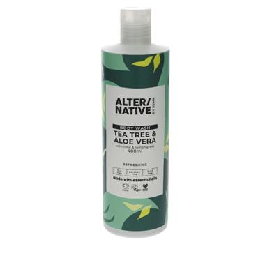 ALTER/NATIVE Tea Tree & Aloe Vera Body Wash 400ML