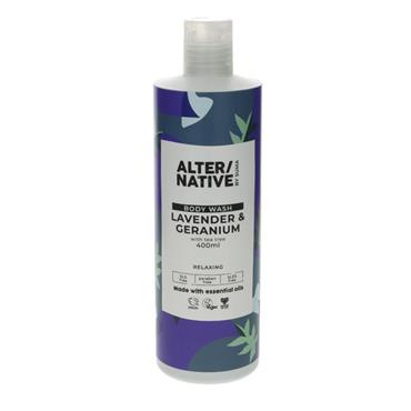 ALTER/NATIVE Lavender & Geranium Body Wash 400ML