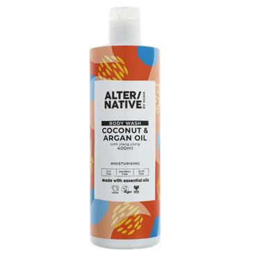 ALTER/NATIVE Coconut & Argan Oil Body Wash 400ML