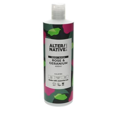 ALTER/NATIVE Rose & Geranium Body Wash 400ML