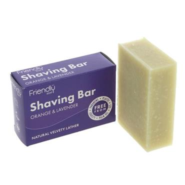 Friendly Shaving Soap Orange/Lavender