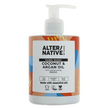 Alter/native By Suma Coconut & Argan Oil Hand Wash
