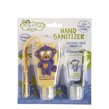 Jack N' Jill Hand Sanitiser Duo - Monkey (29ml)