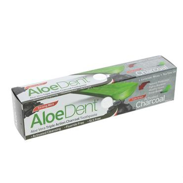 Aloe Dent Charcoal Toothpaste 100ML