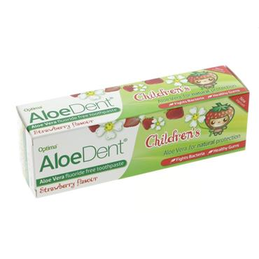 Aloe Dent Children's Strawberry 50ML