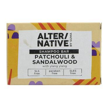 Alter/Native by Suma Glycerine Shampoo bar P'chouli