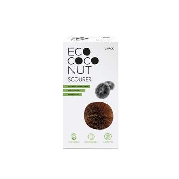 Eco Coconut Twin Pack Scourer (Made From Coconut Husk  )