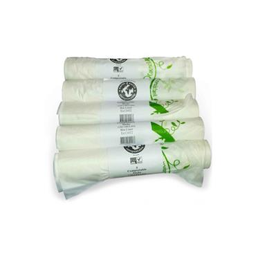 Compostable 140L bin liners (25)