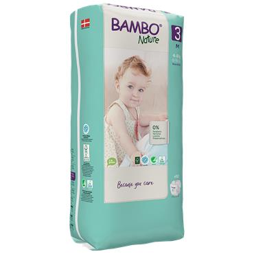 Bambo Nature Nappies Midi 52 Nappies