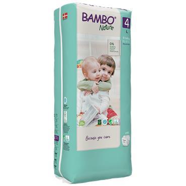 Bambo Nature Nappies Maxi 48 Nappies