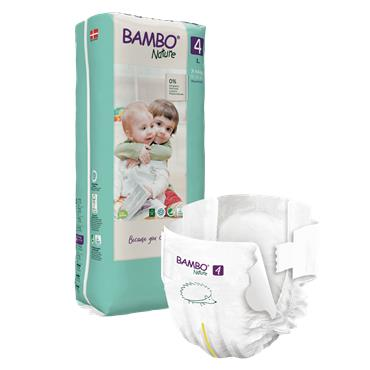 Bambo Nature Nappies Maxi 48 Nappies