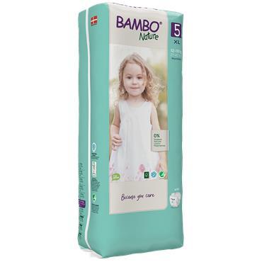 Bambo Nature Nappies Junior 44 Nappies