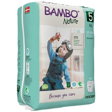 Bambo Nature Pull Up Trainer Pants Junior