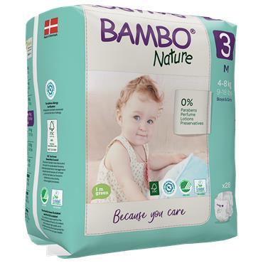 Bambo Nature Nappies Midi 28 Nappies