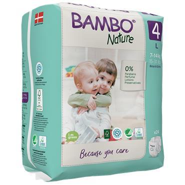 Bambo Nature Nappies Maxi 24 Nappies