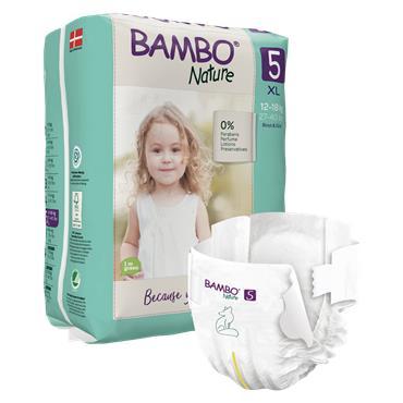 Bambo Nature Nappies Junior 22 Nappies