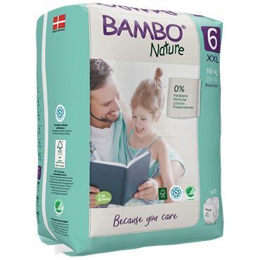 Bambo Nature Nappies XL 20 Nappies
