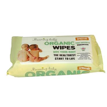 Beaming Baby Organic Skincare Baby Wipes SENSITIVE