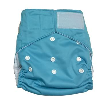 Beaming Baby Washable Birth to Potty Cloth Nappy Velcro Fastening (4 colours Available)