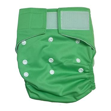 Washable Birth to Potty Cloth Nappy Velcro Fastening (4 colours Available)