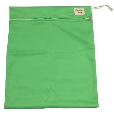 Beaming Baby Washable Wet Bag Single Zip, Green