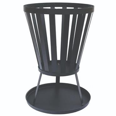 Outdoor Living Fire Basket - Black
