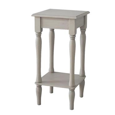 Home Inspirations Antique Cream Square Table