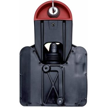 Gravity Lock With Combi lock For Wheelie Bins
