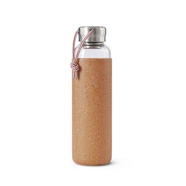 Black+Blum Glass Water Bottle - ALMOND (600ml)