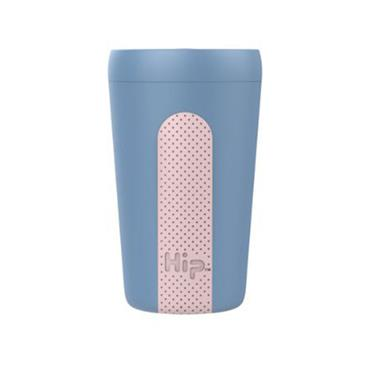 Hip Travel Cup - SKY & DUSTY PINK (12 oz)