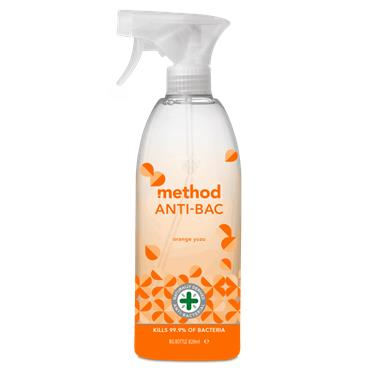 Method Anti Bac Spray - Yuzu Orange