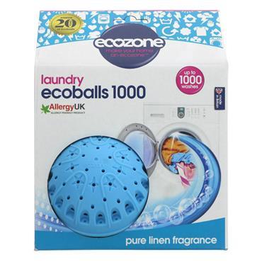 Ecozone Ecoballs 1000 Linen Fragrance 1 x 1 ball