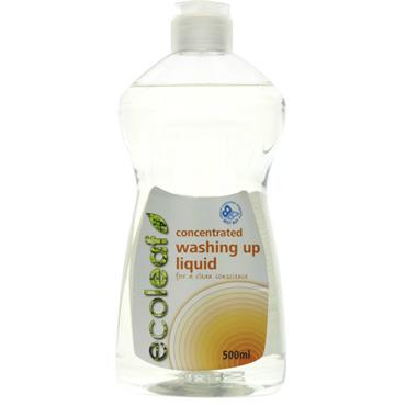 ECOLEAF CONC WASH UP LIQUID 500ML