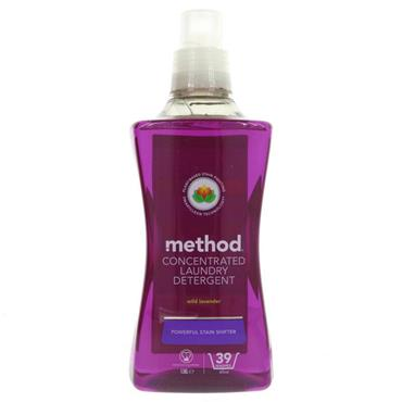 Method Vegan Concentrated Laundry Liquid - Wild Lavender (1.56Litres)
