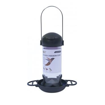 Henry Bell Essentials Wild Bird Suet Bites And Mealworm Feeder