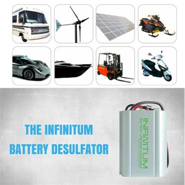 Infinitum Battery Desulphator (24V Model)