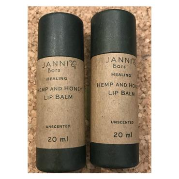 Janni bars Hemp & Honey - Lip Balm