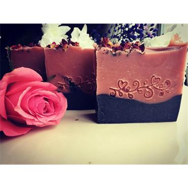 Janni bars Rose - Soap bar