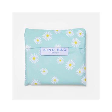 Kind Bag Medium Reusable Shopping Bag - Daisy Blue