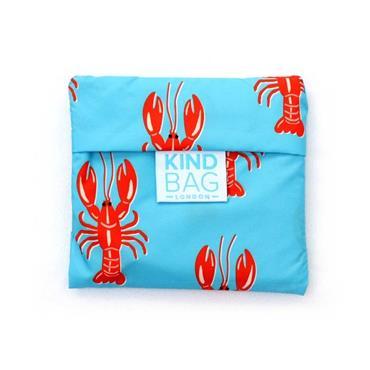 Kind Bag Medium Reusable Shopping Bag - Lobster